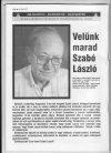 Szabó László sakk nagymester nekrológja