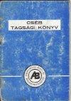 CSÉB tagsági könyv