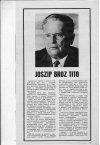 Joszip Broz Tito elhunyt