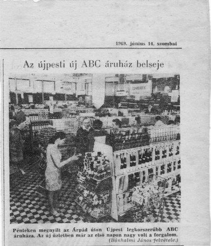 Újpest ABC áruház