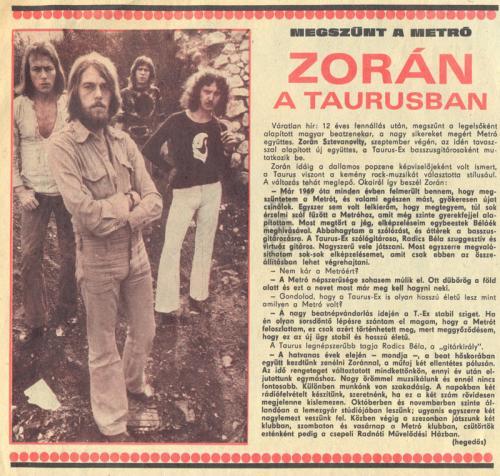 Taurus Zorán